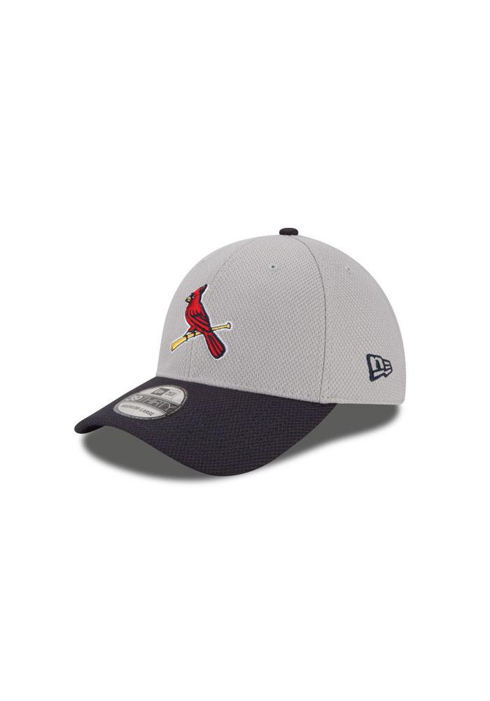 New Era St Louis Cardinals Mens Grey 2Tone Diamond Era Flex Hat - Image 2