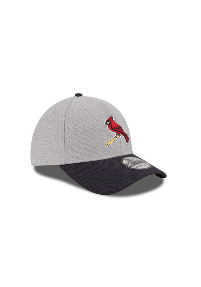 New Era St Louis Cardinals Mens Grey 2Tone Diamond Era Flex Hat - Image 3