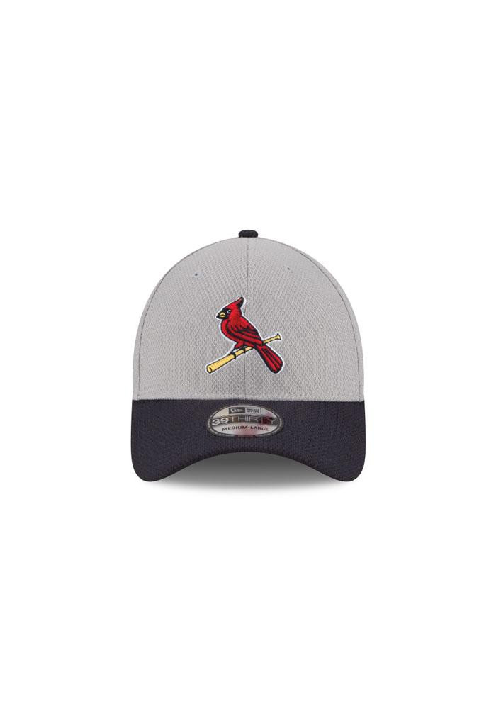 New Era St Louis Cardinals Mens Grey 2Tone Diamond Era Flex Hat - Image 4