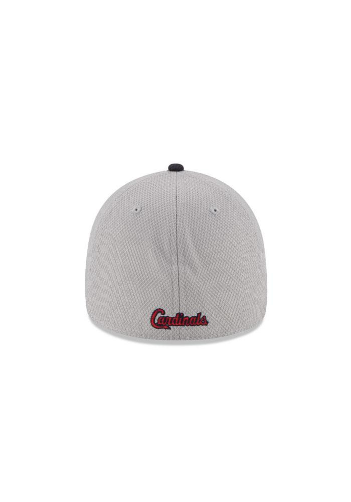 New Era St Louis Cardinals Mens Grey 2Tone Diamond Era Flex Hat - Image 5