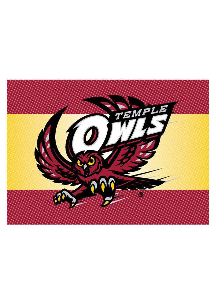 Temple Owls Blank Card - Image 1