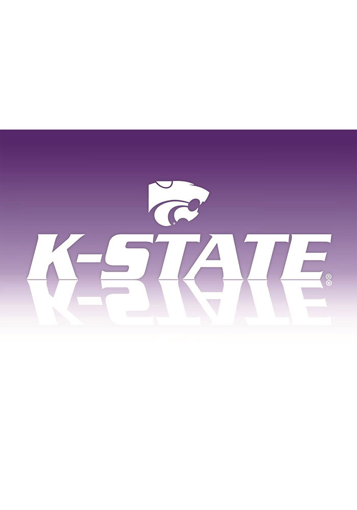 K-State Wildcats Blank Card - Image 1
