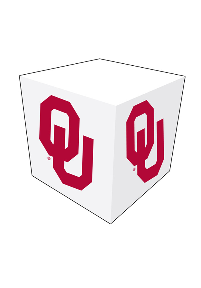 Oklahoma Sooners Memo Paper Cube Sticky Notes - Image 1