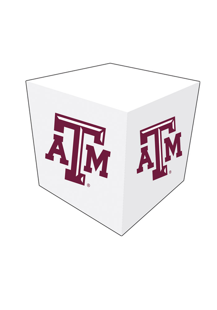 Texas A&M Aggies Memo Paper Cube Sticky Notes - Image 1