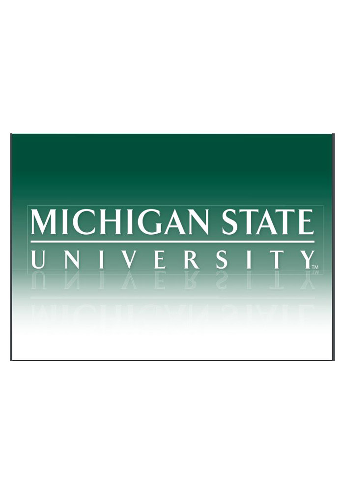 Michigan State Spartans University Blank Card - Image 1