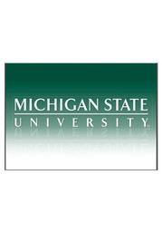 Michigan State Spartans University Blank Card