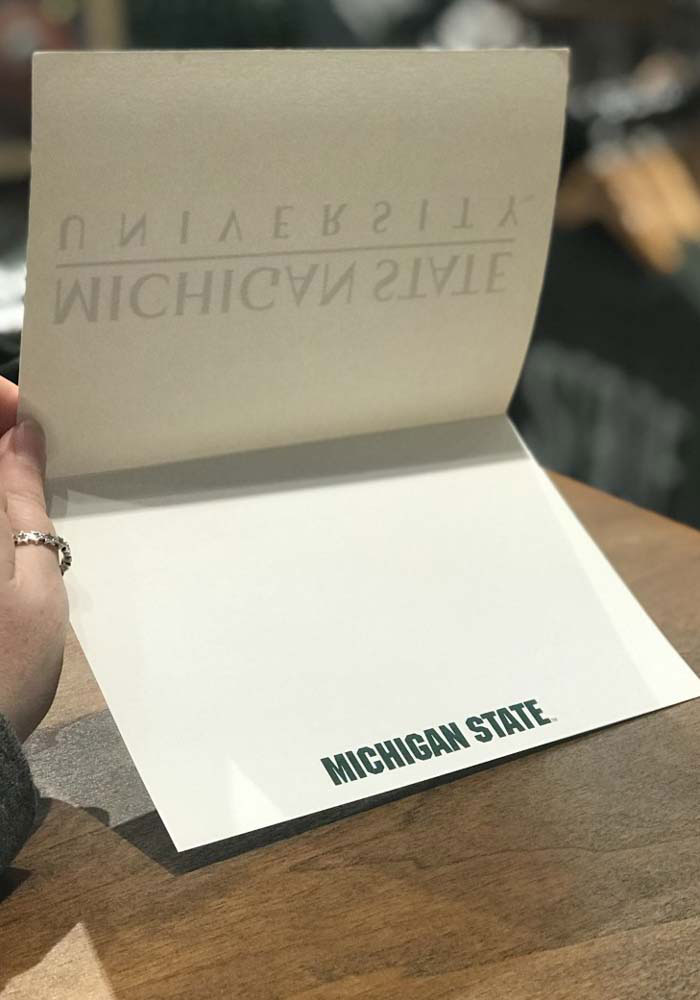 Michigan State Spartans Blank Inside Card - Image 2