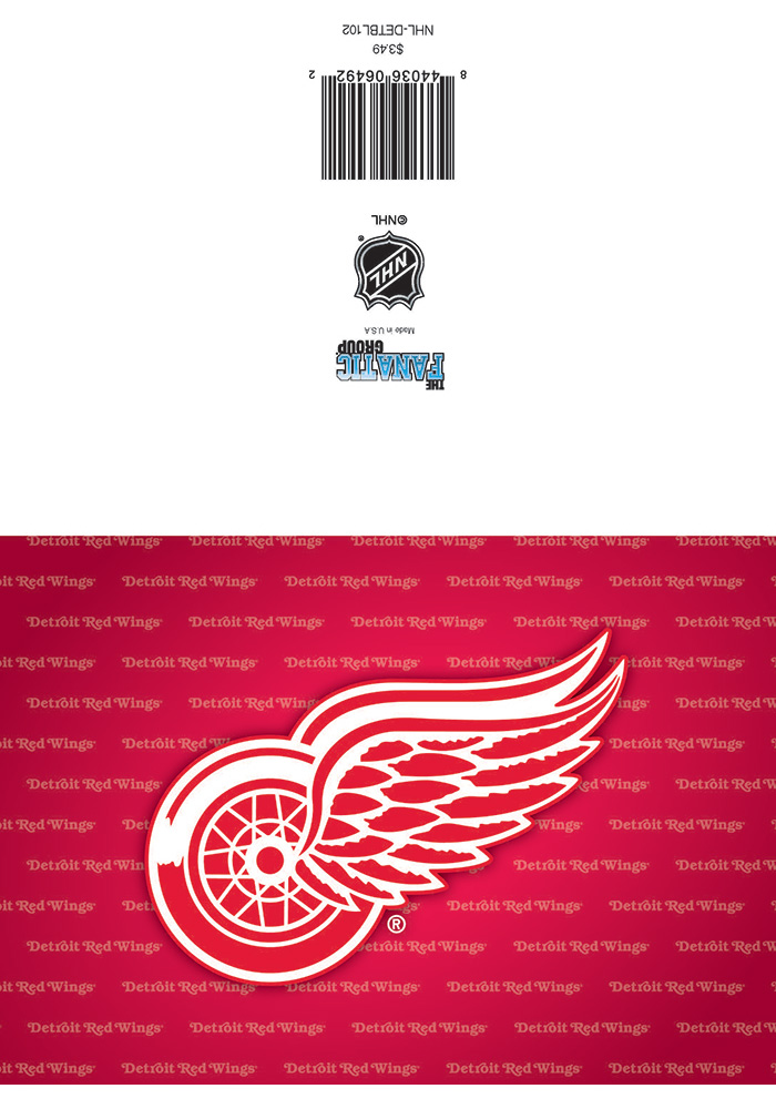 Detroit Red Wings Blank Card - Image 1