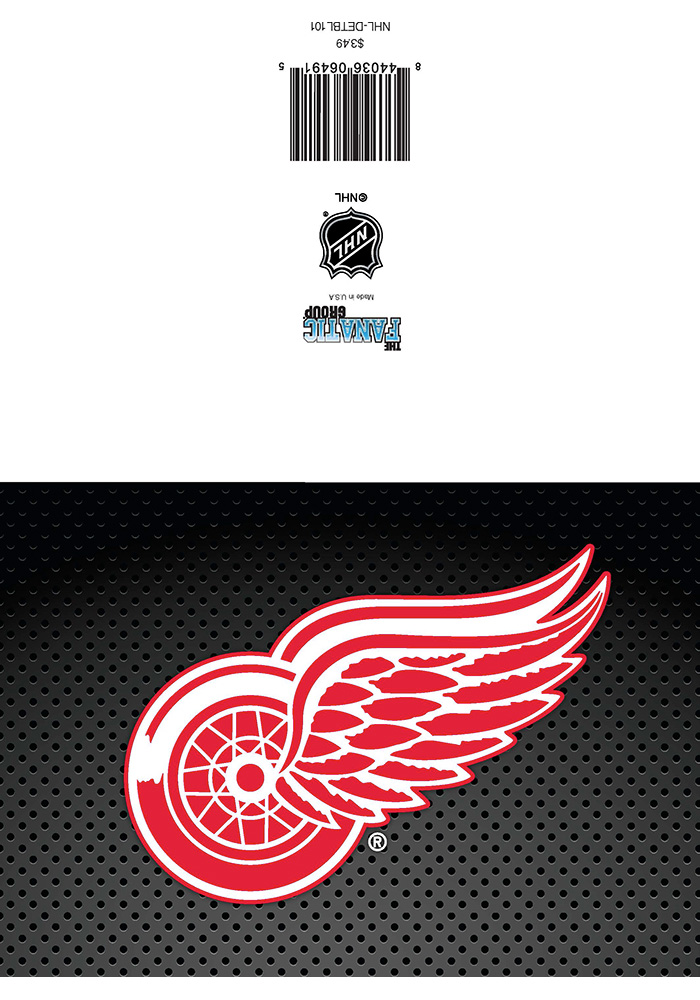 Detroit Red Wings Birthday Card - Image 1