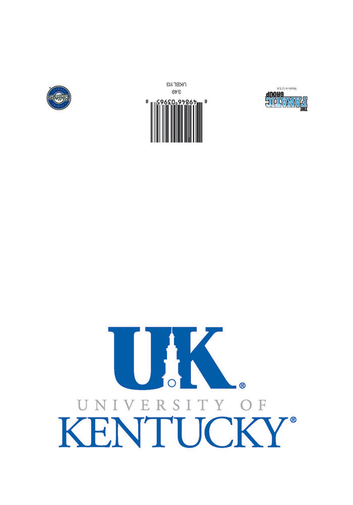 Kentucky Wildcats Blank Inside Card - Image 1