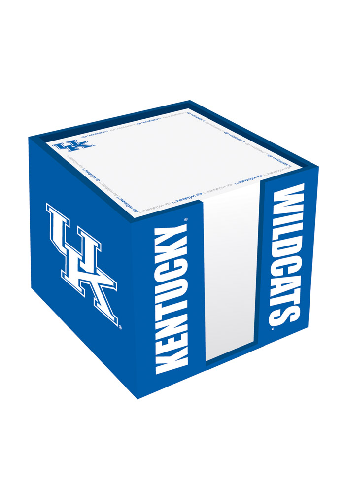 Kentucky Wildcats Note Cube Holder Notepad - Image 1