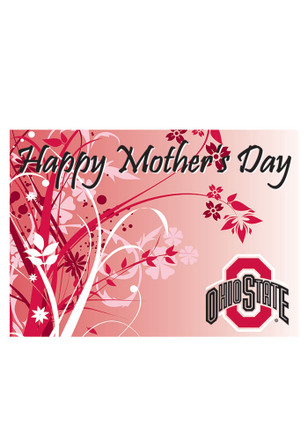 Ohio State Buckeyes Mother`s Day Card