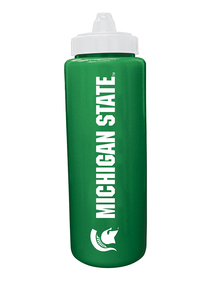 Michigan State Spartans Sport Water Bottle - Image 1