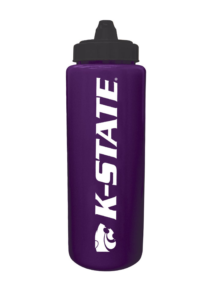 K-State Wildcats Sport Water Bottle - Image 1
