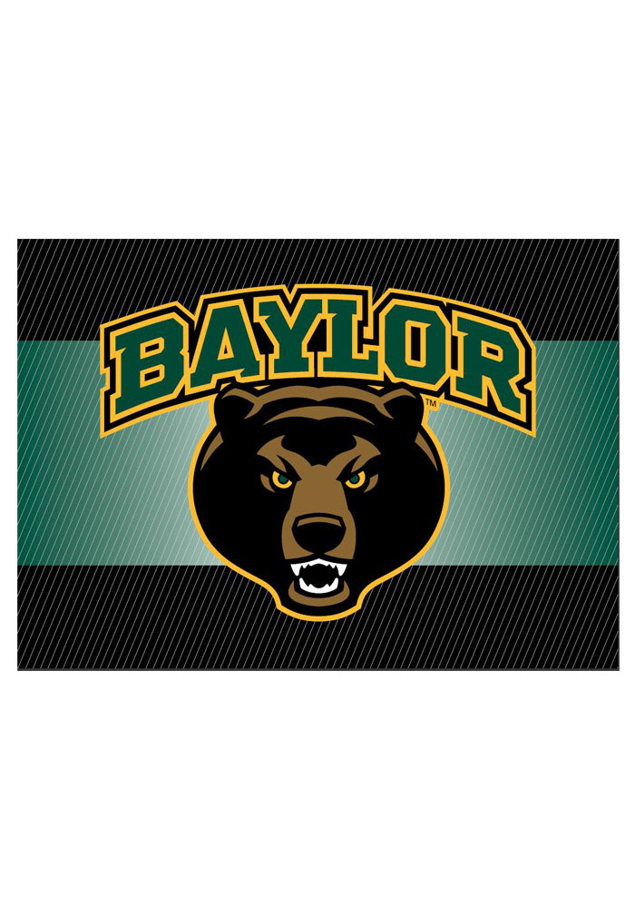 Baylor Bears team logo on the outside with a blank card inside Card - Image 1