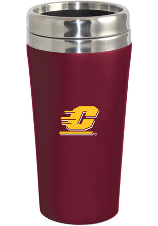 Central Michigan Chippewas Soft Touch Travel Mug
