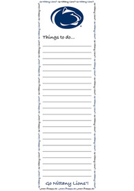 Penn State Nittany Lions To Do List Pad Notepad