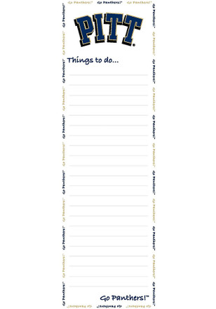 Pitt Panthers To Do List Pad Sticky Notes