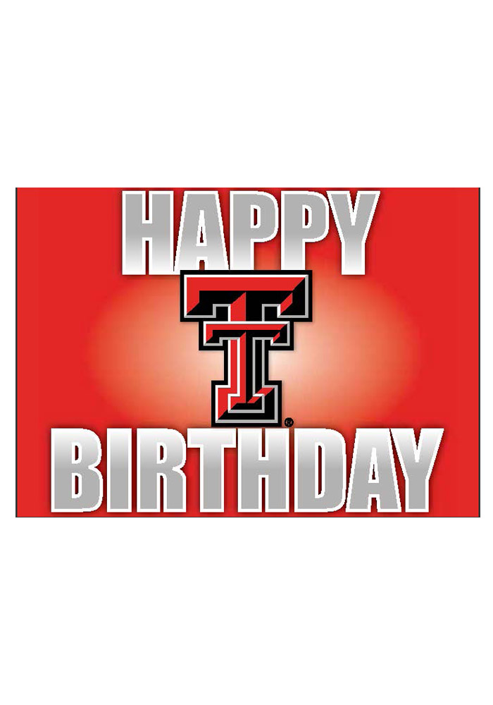 Texas tech red raiders happy birthday card 21230691 texas tech red raiders happy birthday card bookmarktalkfo Gallery