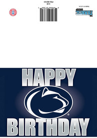 Penn State Nittany Lions Happy Birthday Card