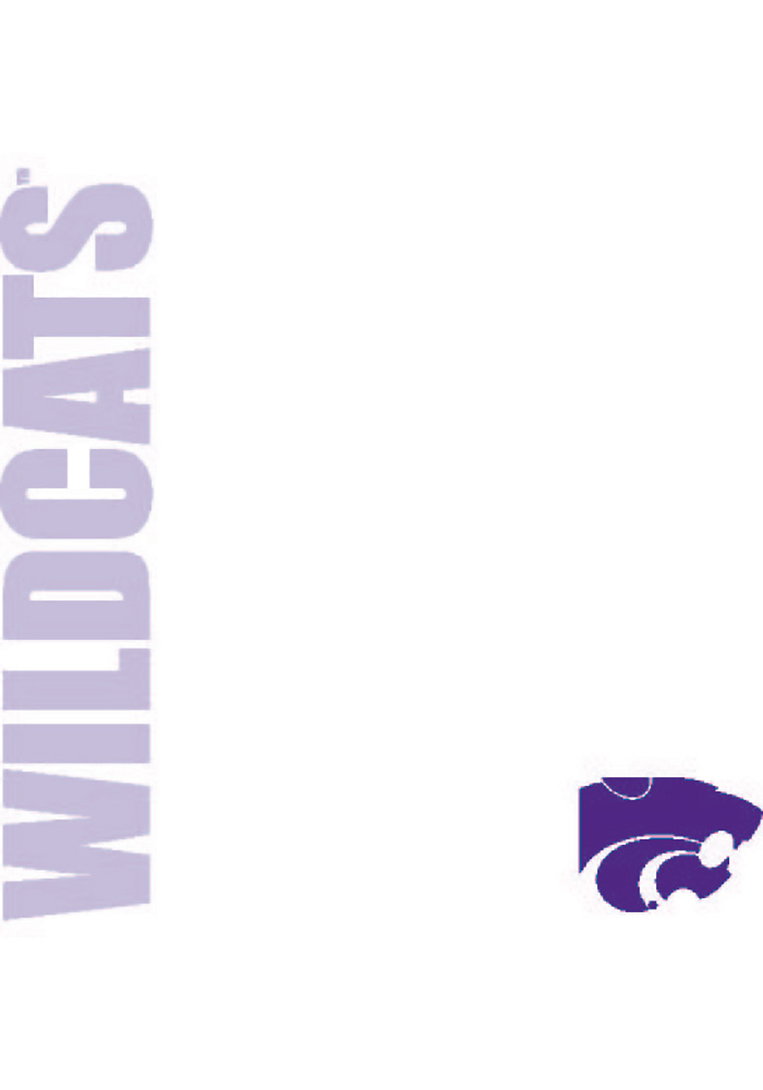 K-State Wildcats Team Logo Sticky Notes - Image 1