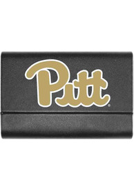 Pitt Panthers Leather Business Card Holder