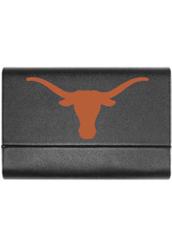 Texas Longhorns Leather Business Card Holder