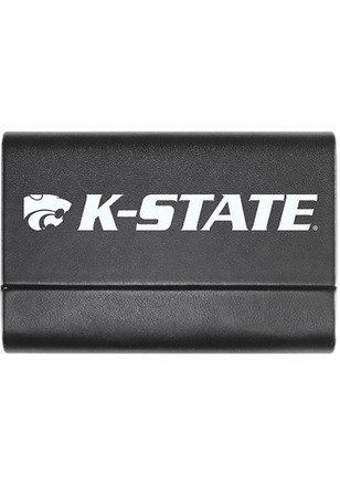 K-State Wildcats Leather Business Card Holder
