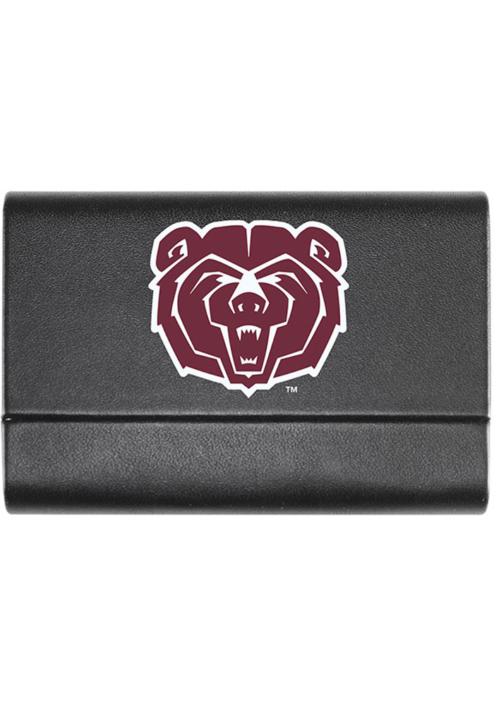 Missouri State Bears Leather Business Card Holder - Image 1