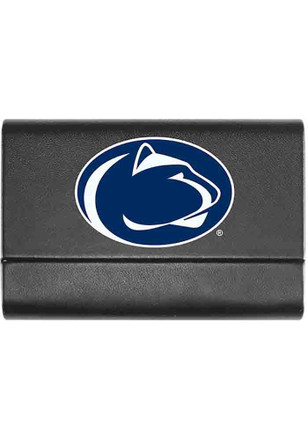 Shop penn state nittany lions desk accessories home decor office penn state nittany lions leather business card holder colourmoves