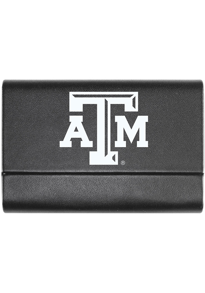 Texas A&M Aggies Leather Business Card Holder