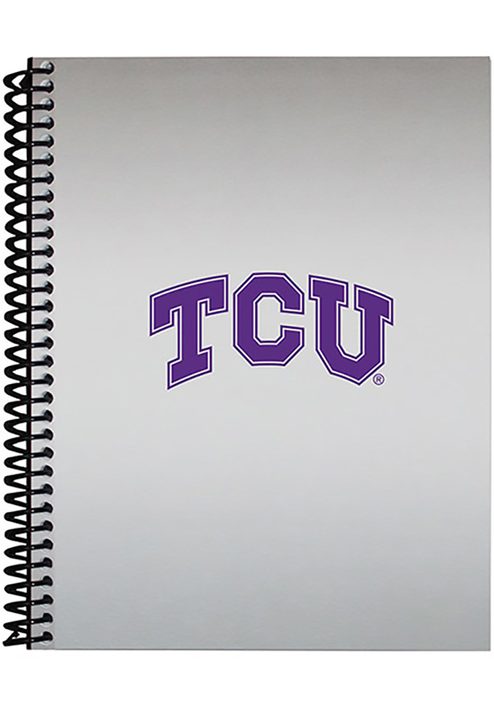 TCU Horned Frogs Spiral Notebooks and Folders - Image 1