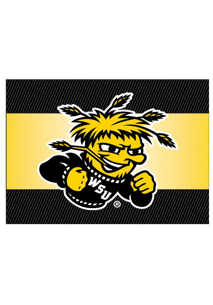 Wichita State Shockers team logo on the outside with a blank card inside Card - Image 1