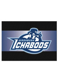 Washburn Ichabods team logo on the outside with a blank card inside Card