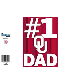 Oklahoma Sooners Fathers Day Card