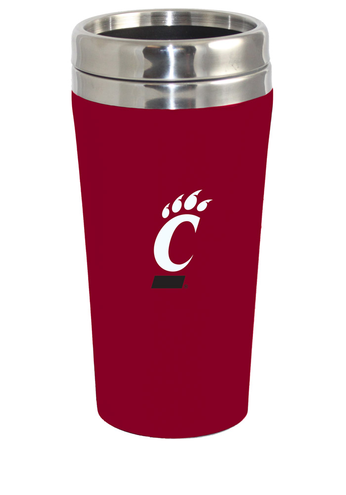 Cincinnati Bearcats Soft Touch Travel Mug - Image 1