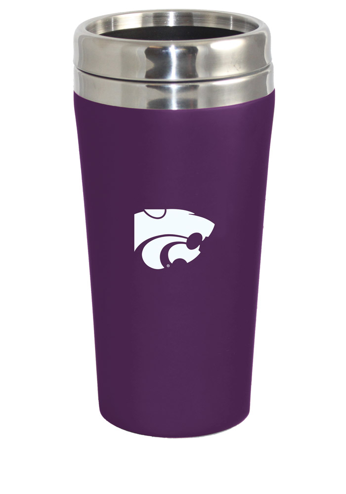 K-State Wildcats Soft Touch Travel Mug - Image 1