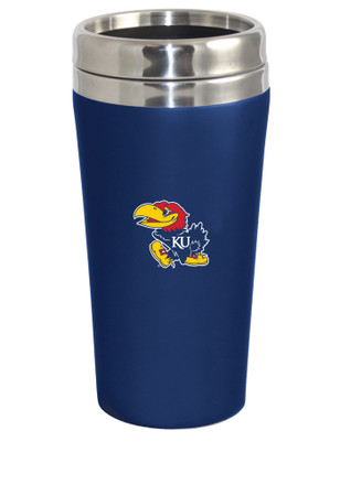 Kansas Jayhawks Soft Touch Travel Mug
