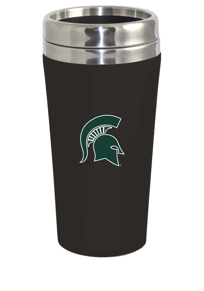 Michigan State Spartans Soft Touch Travel Mug - Image 1