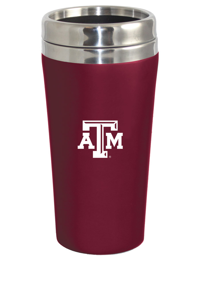 Texas A&M Aggies Soft Touch Travel Mug - Image 1