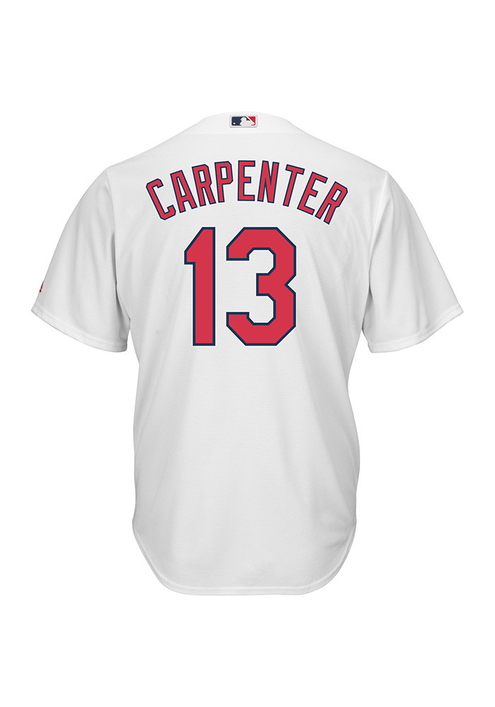 timeless design d0cd4 13163 Matt Carpenter St Louis Cardinals Mens Replica Cool Base Jersey Jersey -  White