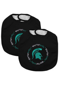 Michigan State Spartans Baby 2 Pack Bib - Green