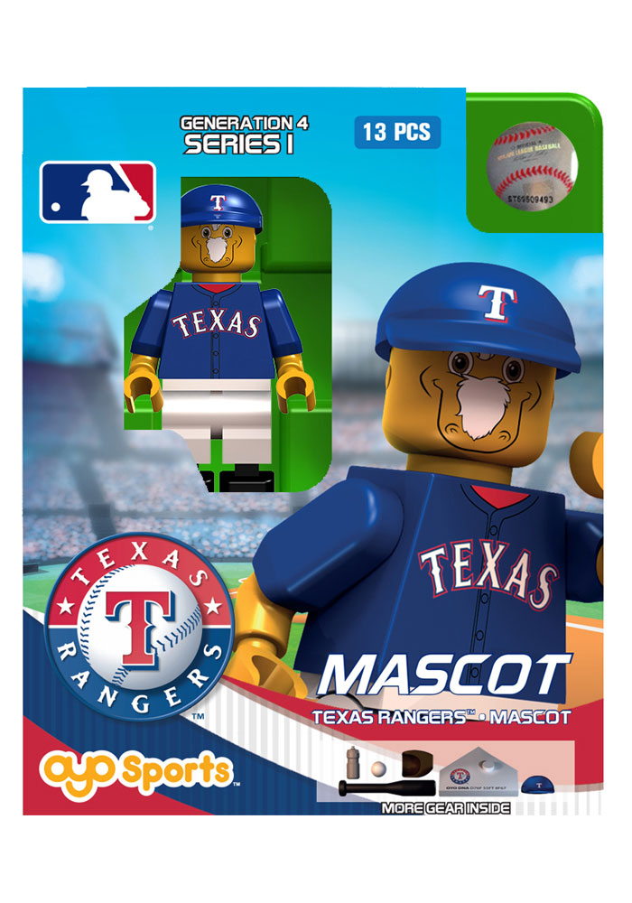 Texas Rangers Captain Generation 4 Collectible Player Oyo - Image 1