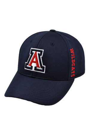Top of the World Arizona Wildcats Mens Navy Blue Booster Flex Hat