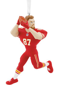 Kansas City Chiefs Travis Kelce Player Ornament