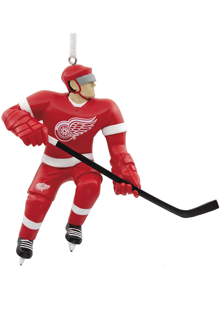 Detroit Red Wings Blank Player Ornament - Image 1