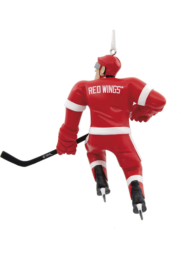 Detroit Red Wings Blank Player Ornament - Image 2