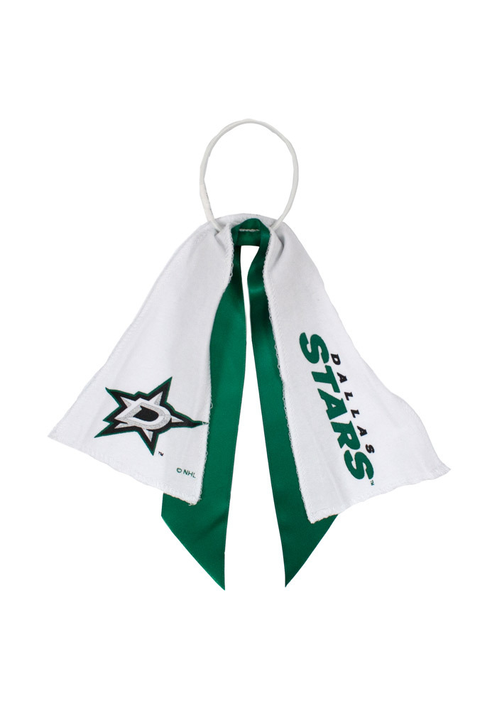 Dallas Stars Ponytail Holder Youth Hair Scrunchie - Image 1