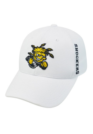 Top of the World Wichita State Shockers Mens White Booster Plus Flex Hat