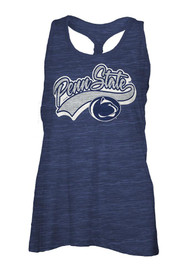 Penn State Nittany Lions Womens Cinch Tank Top - Navy Blue